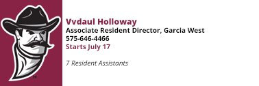 Vvdaul Holloway at 575-646-4466