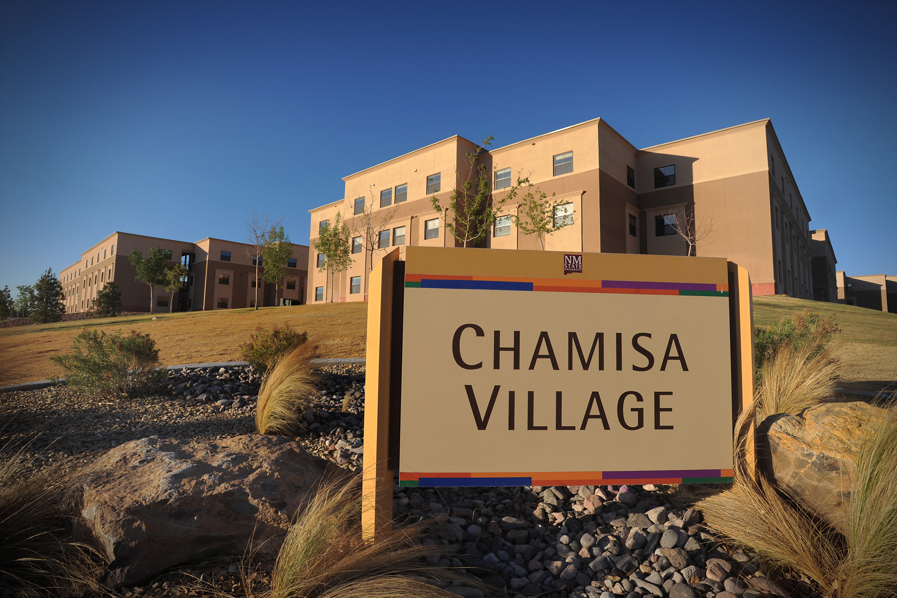 Chamisa Photos on New Mexico State University Campus Map