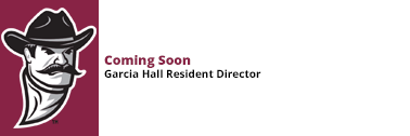 Garcia Hall Resident Director - Coming Soon